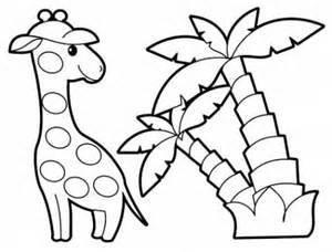 ausmalbilder 252 kinder palmen 9