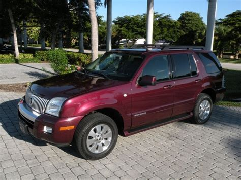 how petrol cars work 2008 mercury mountaineer on board diagnostic system 2008 mercury mountaineer for sale in fort myers fl stock j09417