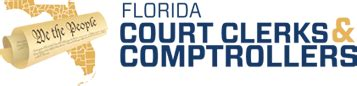 Myfloridacounty Records The Florida Association Of Court Clerks Comptroller