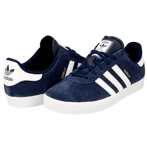 Adidas For 2 adidas gazelle 2 j b24620 white blue en distance eu