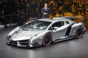 What Is The Most Expensive Lamborghini In The World Lamborghini Veneno Debuts In Geneva Live Photos