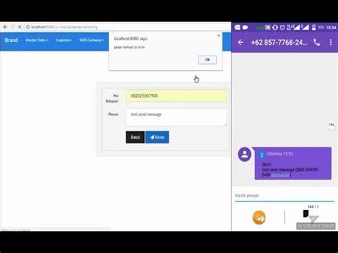 tutorial codeigniter 3 español tutorial codeigniter 3 mengirim pesan dengan sms getaway