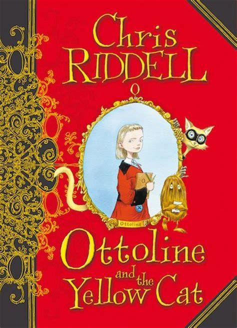 Buku Chris Riddell Ottoline The Yellow Cat ottoline and the yellow cat scholastic club
