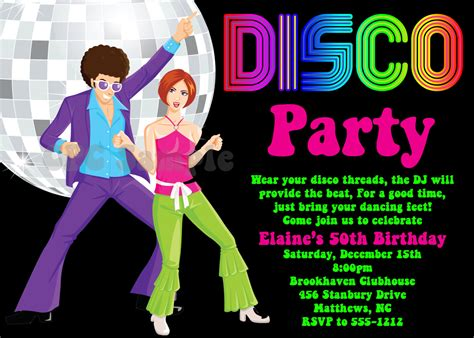 themed events meaning marvelous 70s party invitations to create your own free