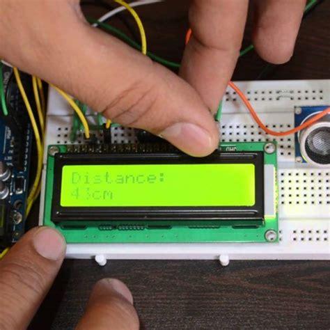 lcd  luz amarillo alfanumerico maker electronico