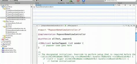 xcode popover tutorial iphone how to code a popover in your ipad xcode application