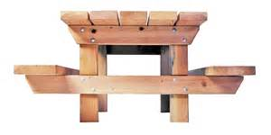 Picnic Bench Design - timberform site furnishings