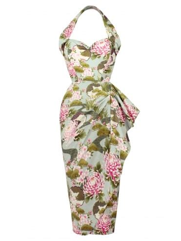 1940s and 1950s sarong style dresses from vivien of
