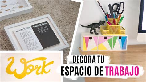 decorar un escritorio de oficina 5 diys para decorar tu escritorio espacio de trabajo