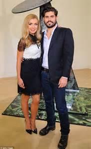 katherine jenkins and husband andrew levitas enjoy first katherine jenkins looks elegant following evening with