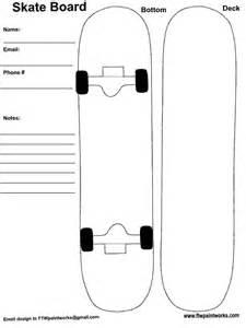 skateboard template skateboard deck designs template print search