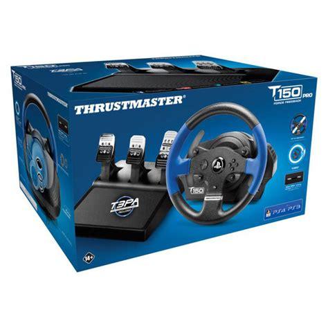 volante pc feedback thrustmaster t150 pro feedback volant pc