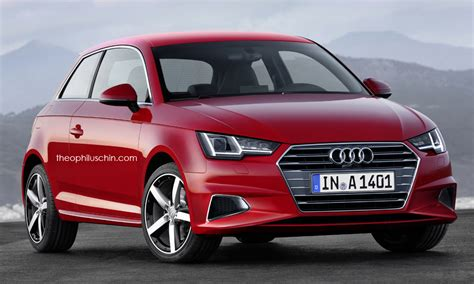 New Audi A1 2018 by 2018 Audi A1 Rendered With A4 And Prologue Styling Details