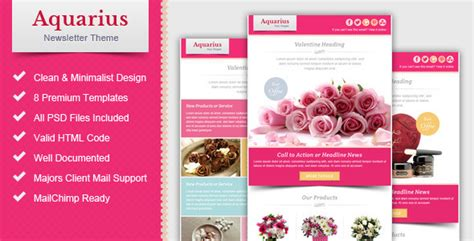 email marketing newsletter templates 10 sweet valentines email marketing templates