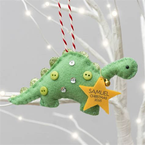 baby s tree decoration baby s dinosaur tree decoration by miss
