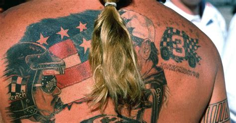 tattoo back bay boston 25 amazing nascar fan tattoos fox sports