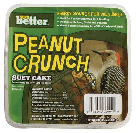 peanut crunch suet cake nunn better