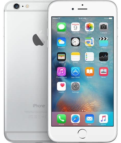 apple iphone 6 plus 64gb smartphone att wireless silver excellent condition used cell