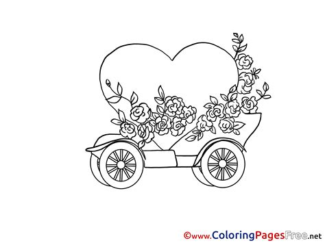 happy birthday heart coloring page heart free colouring page happy birthday