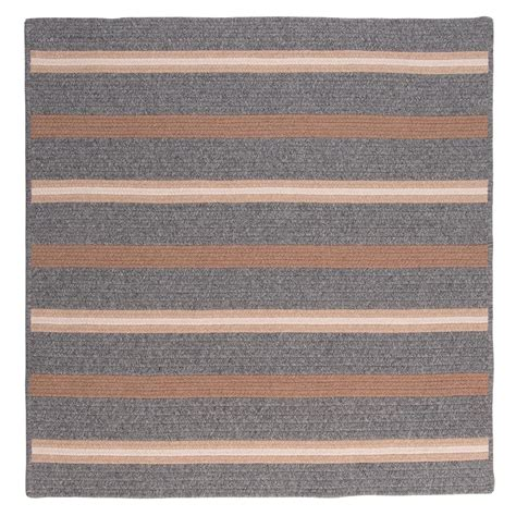 10 Ft Square Area Rug by Colonial Mills Primrose Gray 10 Ft X 10 Ft Square Area