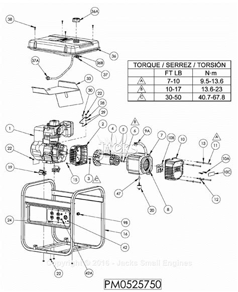 wiring diagram for powermate 8750 generator powermate 5000