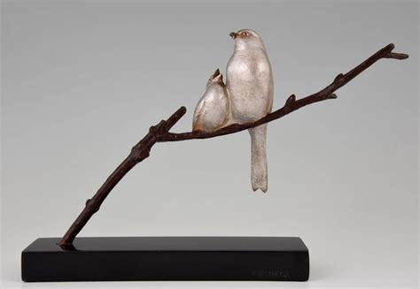 Bronze Bird L by Deco Bronze Bird Sculpture By Becquerel 1930