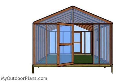 greenhouse   plans myoutdoorplans
