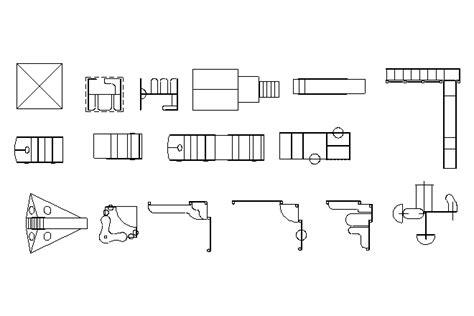 layout machine español bloques cad autocad arquitectura download 2d 3d dwg