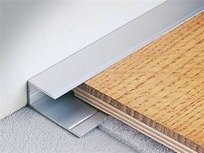 terminal edge profile for wooden and laminate floors