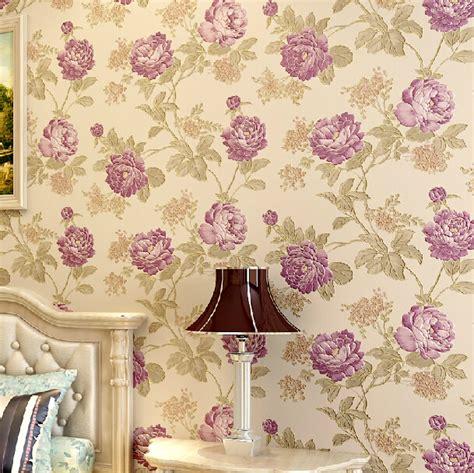 ragam wallpaper dinding motif floral vintage nirwana