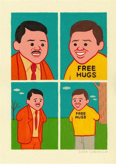 Joan Cornella Free Hugs it s that joan cornell 224 is back with more gruesome