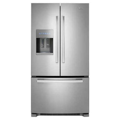 amana 24 7 cu ft door refrigerator in stainless