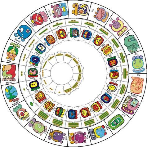 Calendario De Los Mayas Espacio Literario Calendario