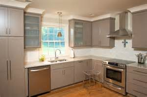 taupe kitchen cabinets contemporary kitchen