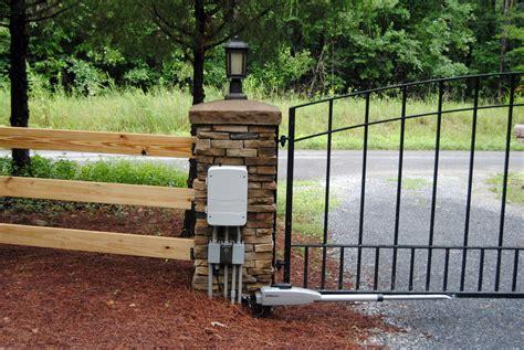 swing gate liftmaster la 400 d dual swing gate opener w myq