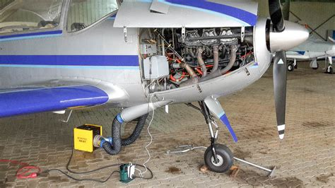 aircraft engine heater remote aircraft engine preheating remotely with isocket