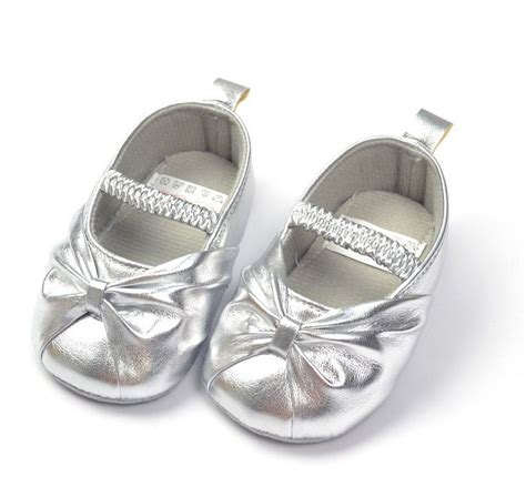 toddler silver shoes formal dress baby shoes for silver toddler soft