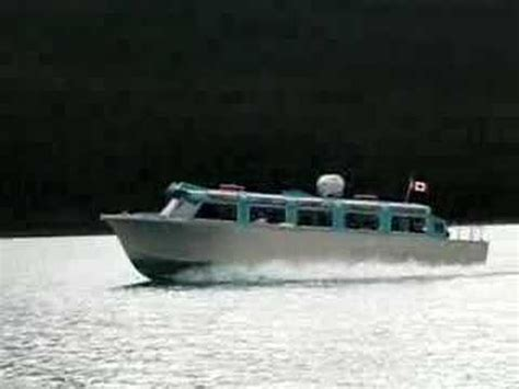 free boat show in ta maligne lake boat tour youtube