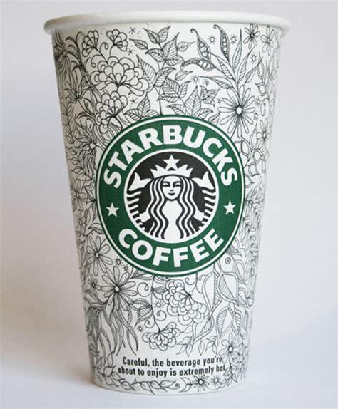 Mug By Myth Creative creative starbucks cup sketches by johanna basford