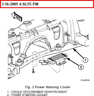 2001 chrysler leaking power steering fluid weird noise a recall