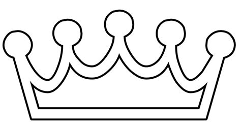 king crown template printable clipart best