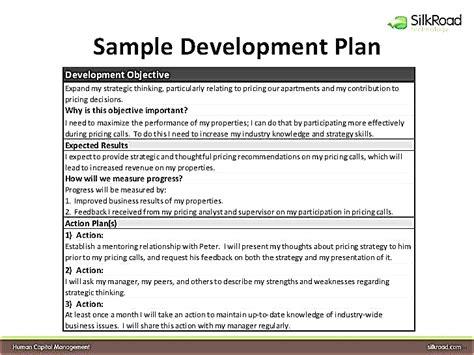 individual work plan template employee development plan template wonderful individual