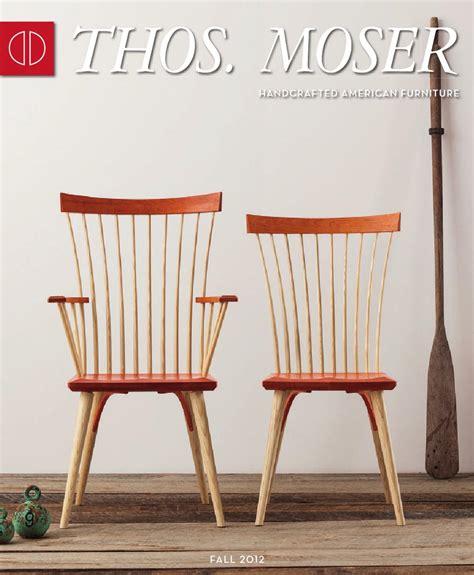 Handmade American Furniture - thos moser fall 2012 catalog by thos moser handmade