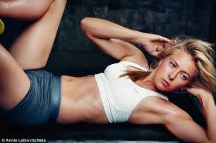 Club Vanity Charlotte Muscles That Rival Nadal Maria Sharapova Shows Off Her