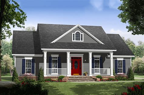 colonial style house plan 3 beds 2 00 baths 1640 sq ft