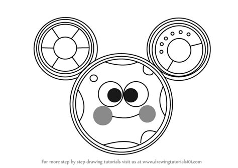 Mickey Mouse Toodles Coloring Pages | step by step how to draw toodles from mickey mouse