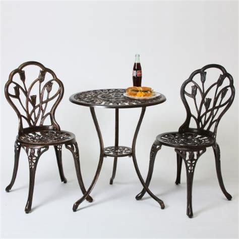 best selling nassau cast aluminum outdoor bistro furniture