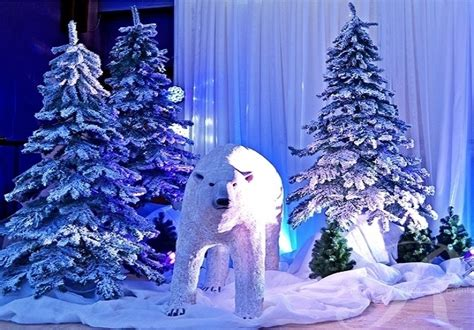 winter themed decorations school theme ideas schoolball