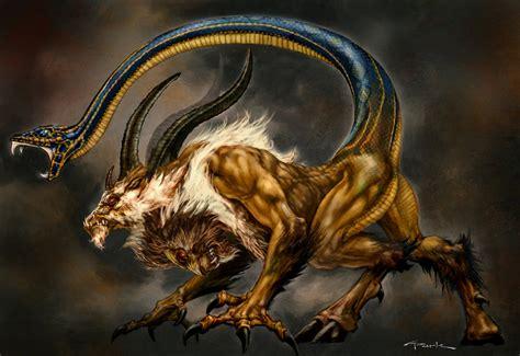 chimera the mythical creature mythologian net