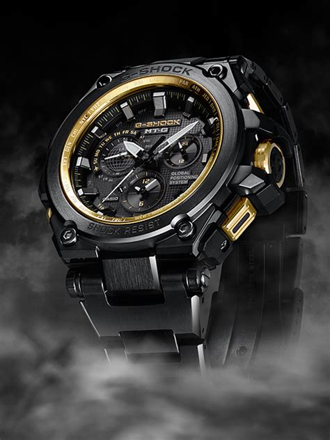 G Shock Gg1000 Black White g shock black gold mtg g1000gb 1a